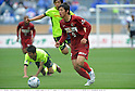 Yuya Osako (Antlers), APRIL 25th, 2011 - Football : 2011 J.League Division 1 match between Kashima Antlers 0-3 Yokohama Marinos at National Stadium in Tokyo, Japan. The J.League resumed on Saturday 23rd April after a six week enforced break following the March 11th Tohoku Earthquake and Tsunami. All games kicked off in the daytime in order to save electricity and title favourites Kashima Antlers are still unable to use their home stadium which was damaged by the quake. Velgata Sendai, from Miyagi, which was hard hit by the tsunami came from behind for an emotional 2-1 victory away to Kawasaki. (Photo by Takamoto Tokuhara/AFLO).
