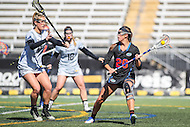 Towson, MD - March 5, 2017: Florida Gators Brianna Harris (20) looks to pass the ball during game between Towson and Florida at  Minnegan Field at Johnny Unitas Stadium  in Towson, MD. March 5, 2017.  (Photo by Elliott Brown/Media Images International)
