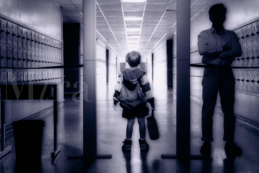 School security metal detector.