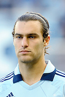 Graham Zusi Sporting KC midfielder... Sporting KC defeated FC Dallas 2-1 at LIVESTRONG Sporting Park, Kansas City, Kansas.