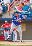 3 March 2016: New York Mets first baseman Dominic Smith in action during a Spring Training pre-season game against the Washington Nationals at Space Coast Stadium in Viera, Florida. The Mets fell to the Nationals 9-4 in Grapefruit League play. Mandatory Credit: Ed Wolfstein Photo *** RAW (NEF) Image File Available ***
