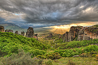 Monasteries on the top of Giant rocks seem miraculous and make Meteora one of the most spectacular places in Greece.