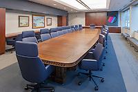 Corporate board room at Magnetrol in Aurora, IL