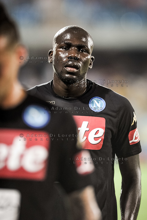 Koulibaly Kalido (Napoli) during the Italian Serie A football match Pescara vs SSC Napoli on August 21, 2016, in Pescara, Italy. Photo by Adamo Di Loreto
