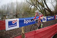 Michael Vanthourenhout (BEL/Sunweb-Napoleon Games/U23)<br /> <br /> Flandriencross Hamme 2014