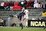 03 December 2010: Notre Dame's Lauren Fowlkes (9) and Ohio State's Liz Sullivan (7). The Notre Dame Fighting Irish defeated the Ohio State University Buckeyes 1-0 at WakeMed Stadium in Cary, North Carolina in an NCAA Women's College Cup semifinal game.