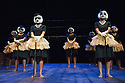 Isango Ensemble present a programme of three productions, at the Hackney Empire: La Boheme, the Ragged Trousered Philanthropists, and Aesop's Fables. Picture shows: The White Lady Chorus from The Ragged Trousered Philanthropists.