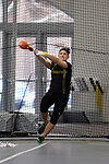 11 MAR 2011: Alexia Child of Wisconsin Oshkosh throws during the the Division III Men's and Women's Indoor Track and Field Championships held at the Capital Center Fieldhouse on the Capital University campus in Columbus, OH.  Jay LaPrete/NCAA Photosz