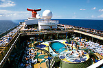 The Caribbean: Cruise ship Carnival Spirit..Photo copyright Lee Foster, 510/549-2202, lee@fostertravel.com, www.fostertravel.com..Photo #: caribb104
