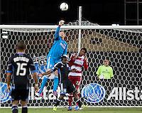 Santa Clara, California - Saturday July 18, 2012: FC Dallas vs San Jose Earthquakes at Buck Shaw Stadium, Stanford, Ca   San Jose Earthquakes defeated FC Dallas 2 - 1