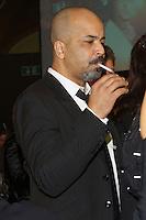 Jeffrey Wright smoking a cigarette (or weed)