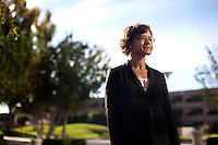 Los Angeles, California, November 30, 2010 - A portrait of Nicole Hall, Executive Director of Alumni and Career Services at Pepperdine University's Graziadio School of Business and Management, at the downtown Los Angeles campus. The business school has a current enrollment of around 1,800 students spread over five campuses in and around Los Angeles, with a sixth slated to open in Santa Barbara, California this spring.