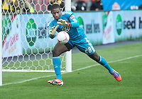 06 October 2012: D.C. United goalkeeper Bill Hamid #28 in action during an MLS game between DC United and Toronto FC at BMO Field in Toronto, Ontario Canada. .