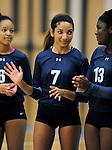 9-29-15, Skyline High School varsity volleyball in action