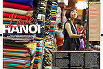 Hanoi feature for Silkwinds, Singapore Airlines magazine