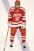 Corey Trivino (BU - 10) is announced as a Terrier starter. - The Boston College Eagles defeated the visiting Boston University Terriers 5-2 on Saturday, December 4, 2010, at Conte Forum in Chestnut Hill, Massachusetts.
