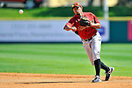 7 March 2011: Houston Astros' infielder Angel Sanchez in action during a Spring Training game against the Washington Nationals at Space Coast Stadium in Viera, Florida. The Nationals defeated the Astros 14-9 in Grapefruit League action. Mandatory Credit: Ed Wolfstein Photo