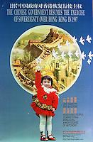China Hong Kong Reunification Poster