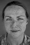 SSG Mary Rose Mittlesteadt, 26, Kenai, Alaska. 1st Cavalry Division at Camp Liberty, Baghdad on Friday May 25, 2007.