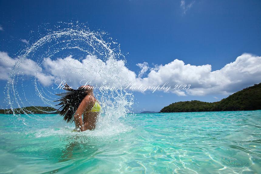 Natalie Kline <br /> Hawksnest Bay<br /> Virgin Islands National Park<br /> St. John, U.S. Virgin Islands