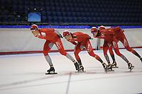 SCHAATSEN: HEERENVEEN: 16-09-2014, IJsstadion Thialf, Topsporttraining, ©foto Martin de Jong