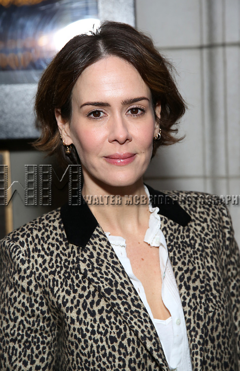 Sarah Paulson attends the Broadway Opening Night of 'Lillian Helman's The Little Foxes' at the  Samuel J. Friedman Theatre on April 19, 2017 in New York City