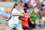 25 October 2015: North Carolina's Jessie Scarpa. The University of North Carolina Tar Heels hosted the Clemson University Tigers at Fetzer Field in Chapel Hill, NC in a 2015 NCAA Division I Women's Soccer game. UNC won the game 1-0.