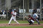 Mannheim 20.04.2008, Baseball 1. Bundesliga Tornados Mannheim - Heidenheim Heidek&ouml;pfe, Mannheims Fred Kraft beim Schlag<br /> <br /> Foto &copy; Rhein-Neckar-Picture *** Foto ist honorarpflichtig! *** Auf Anfrage in h&ouml;herer Qualit&auml;t/Aufl&ouml;sung. Belegexemplar erbeten.