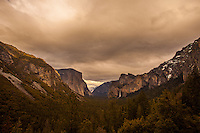 Sunset Over Yosemite