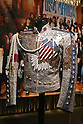 May 12, 2010 - Tokyo, Japan - King of Pop's 'United We Stand Jacket (2001)' are on display at the 'Michael Jackson - The official Lifetime Collection' exhibition, in a hall at the foot of Tokyo Tower, Tokyo, Japan, on May 12, 2010. More than 280 items of Michael Jackson memorabilia including crystal-studded gloves and favorite 1967 Rolls Royce are on display until July 4. (c) MICHAEL JACKSON ESTATE.