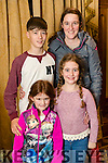 Aoife, Vincent, Shauna Thresa O'Sullivan Lispole  at Home and Away star George Mason appearance at the Meadowlands Hotel on Sunday.