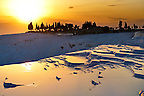 Photo & Image  of Pamukkale Travetine Terrace, Turkey, at sunset. Images of the white Calcium carbonate rock formations. Buy as stock photos or as photo art prints. 5