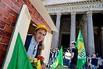 Stop Abusivismo, Verdi al Pantheon costruiscono casa di legno