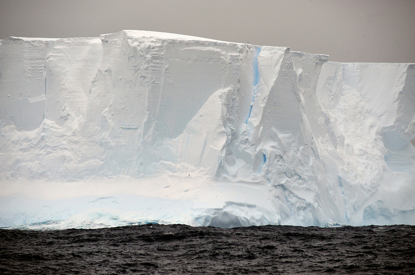 Ice Slices - An iceburg in the Great Southern Ocean between Macquarie Is and Commonewealth Bay, Antarctica
