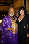 Count Stovell and Jackee Harry - both Another World at The National Black Theatre Festival with a week of plays, workshops and much more with an opening night gala of dinner, awards presentation followed by Black Stars of the Great White Way followed by a celebrity reception. It is an International Celebration and Reunion of Spirit. (Photo by Sue Coflin/Max Photos)