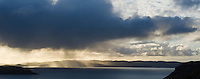 Dramatic light over Loch Snizort, Uig, Isle of Skye, Scotland