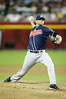 27 June 2011:  Pitcher #51 Mitch Talbot on the mound during a Major League Baseball game MLB Cleveland Indians defeated the Arizona Diamondbacks 5-4 inside Chase Field in Phoenix, AZ.  **Editorial Use Only**