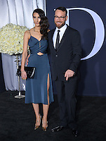 Dana Brunetti &amp; Guest at the premiere of &quot;Fifty Shades Darker&quot; at the Theatre at the Ace Hotel, Los Angeles, USA 18th January  2017<br /> Picture: Paul Smith/Featureflash/SilverHub 0208 004 5359 sales@silverhubmedia.com
