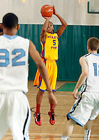 April 10, 2011 - Hampton, VA. USA;  Allonzo Trier participates in the 2011 Elite Youth Basketball League at the Boo Williams Sports Complex. Photo/Andrew Shurtleff