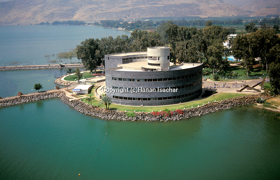 Ginosar Israel  city photos gallery : Israel, Sea of Glilee, Yigal Allon museum in Kibbutz Ginosar, site of ...