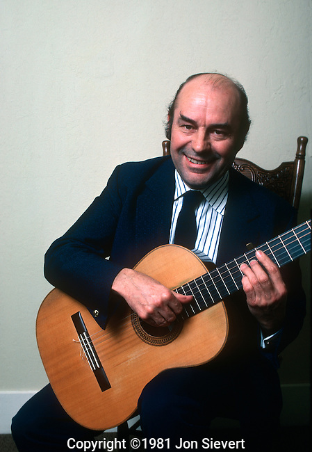Julian Bream, June 1981. English classical guitarist and lutenist and is one of the most distinguished classical guitarists of the 20th century. He has also been successful in renewing popular interest in the Renaissance lute.