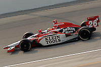 11 September, 2005, Joliet,IL,USA<br /> Dan Wheldon<br /> Copyright&copy;F.Peirce Williams 2005