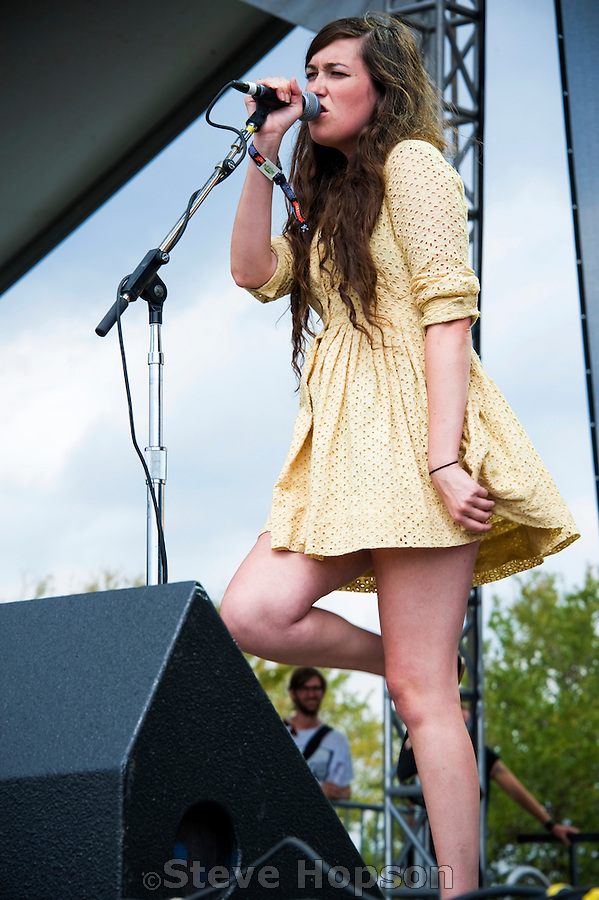 Cults performs at the Austin City Limits Music Festival 2010, Austin ...