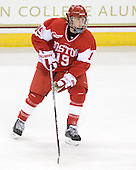 Jenelle Kohanchuk (BU - 19) - The visiting Boston University Terriers defeated the Boston College Eagles 1-0 on Sunday, November 21, 2010, at Conte Forum in Chestnut Hill, Massachusetts.