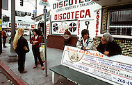 January, 1983. Los Angeles, California. East Los Angeles has the biggest population of illegal immigrants in California.