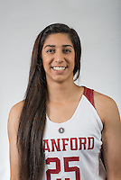 STANFORD, CA - November 5, 2015: The Stanford Cardinal 2015-2016 Women's Basketball Team