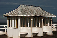 Pavilion on the Cromer Pier, Norfolk, England.
