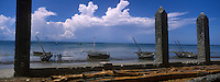 Afrique/Afrique de l'Est/Tanzanie/Bagamoyo: le port de pche ou l'on embarquait jadis les esclaves