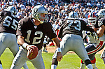 Oakland Raiders quarterback Rich Gannon (12) on Sunday, September 19, 2004, in Oakland, California. The Raiders defeated the Bills 13-10.