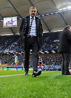FUSSBALL   1. BUNDESLIGA   SAISON 2011/2012   18. SPIELTAG Hamburger SV - Borussia Dortmund     22.01.2012 Trainer Thorsten Fink (Hamburger SV)